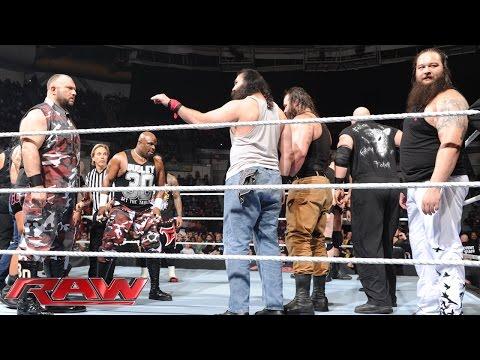 Die Dominantesten WWE Fraktionen Kollidieren: Raw – 7. Dezember 2015