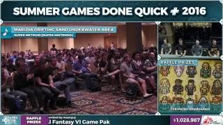 Super Metroid race by oatsngoats, sweetnumb, zoast, Behemoth87 in 46:45 - SGDQ 2016 - Part 172