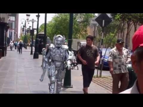 Robot in Lima, Peru