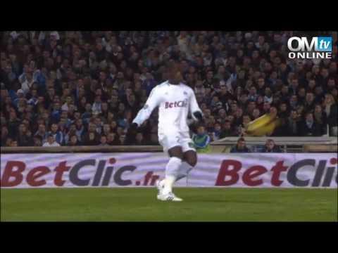 Saison 2010-2011 28ème journée Olympique de Marseille Paris-Saint-Germain 2-1