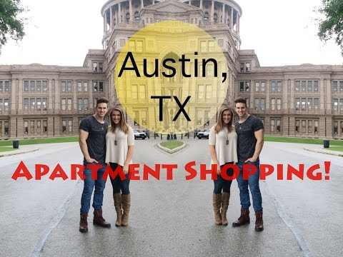 Apartment Shopping in Austin, TX!