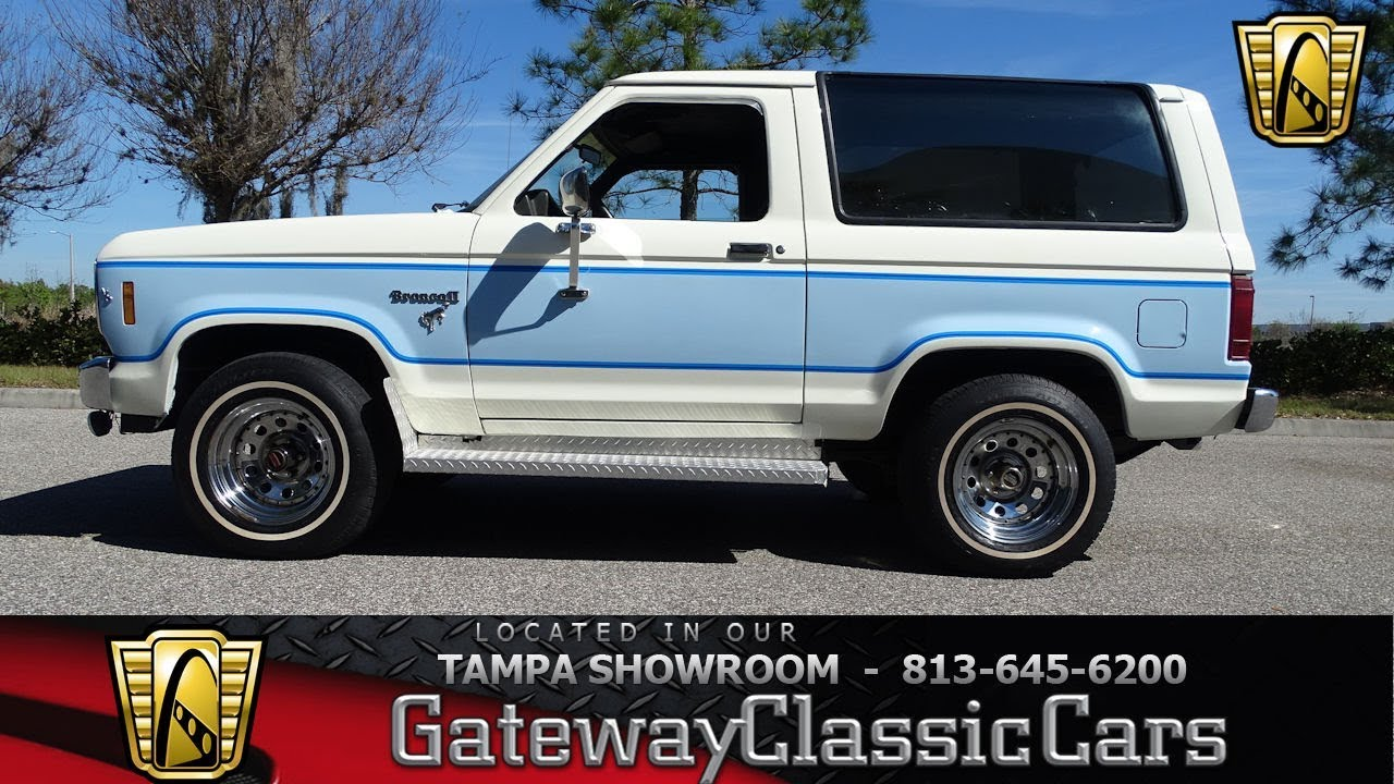 small resolution of 1129 tpa 1985 ford bronco ll 2 8l v6 5 speed manual