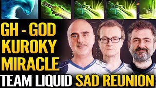 3 Old Liquid in RANKED Got Destroyed - Sad Refunion!! Dota 2 gameplay