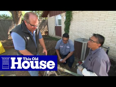 How to Repair a Sewer Pipe Under a Concrete Slab  This Old House  YouTube