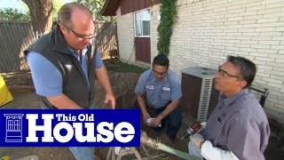 How to Repair a Sewer Pipe Under a Concrete Slab | This Old House