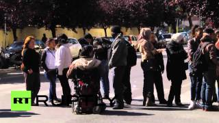 Italy: Police evict 200 homeless families in Rome amid protests