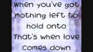 Love Comes Down Kerrie Roberts Lyrics