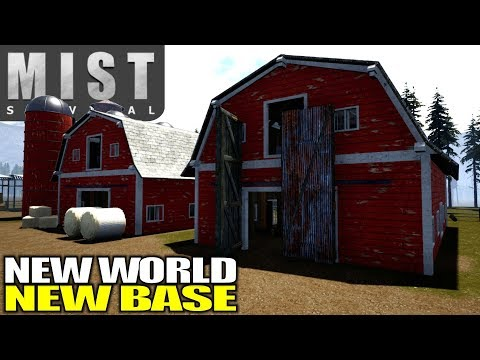 NEW WORLD NEW BASE | Mist Survival | Let's Play Gameplay | S03E01