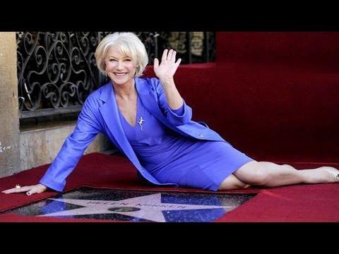 Helen Mirren Gets Hollywood Walk of Fame
