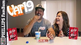 BURN OR BLISS CHALLENGE | VAT19 SPICY CHOCOLATE ROULETTE CHALLENGE | PHILLIPS FamBam Challenges