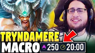 WATCH THIS VIDEO IF YOU WANT BETTER TRYNDAMERE MACRO | Carrying With Imaqtpie - League of Legends