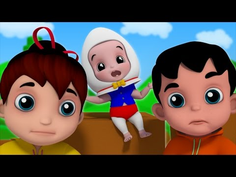 Junior Squad Kids Nursery Rhymes - Humpty Dumpty Sat On A Wall Baby Rhymes Jr.Squad S01EP18