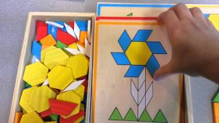Pattern Blocks And Boards Classic Toy By Melissa And Doug