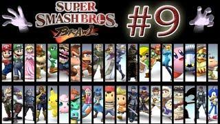 """Super Smash Bros Brawl ( Parte 9 - Sala en Ruinas - Zona Silvestre - La Ribera """"Mancos Nivel:Dios"""")"""