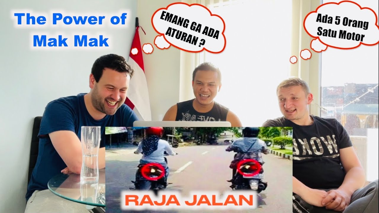 Reaksi Bule The Power Of Mak Mak Indonesia 🇮🇩 Bikin Ngakak 😂