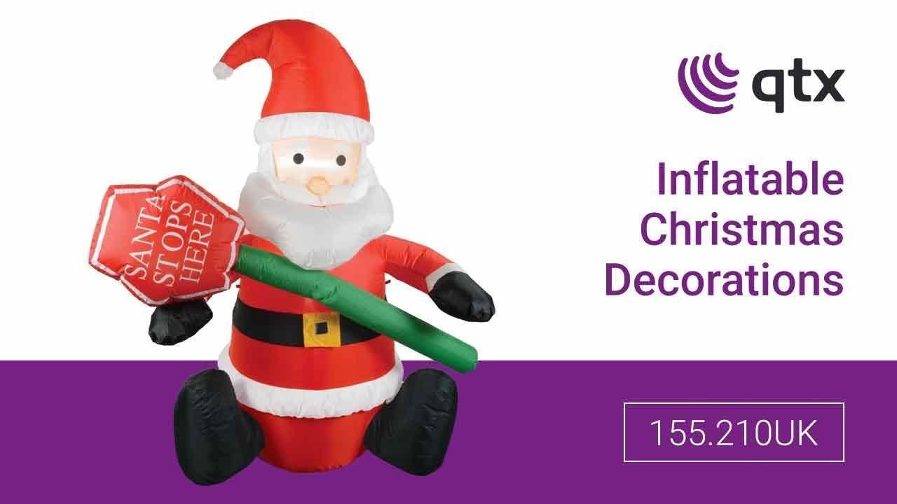 155.210UK - Inflatable Christmas Decorations - YouTube