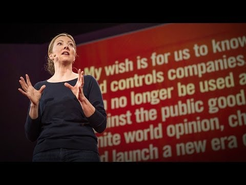 Charmian Gooch: My wish: To launch a new era of openness in business