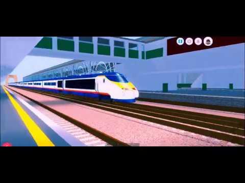 Eurostar 373 passing Bently