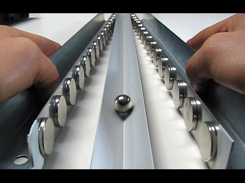 Magnets For Cars >> MAGNETIC ACCELERATOR - SMOT experiment for kids - YouTube