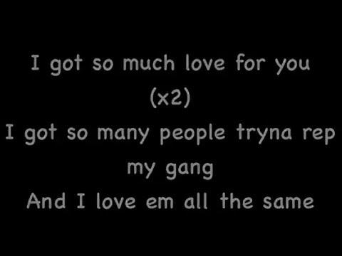 So Much - Wiz Khalifa - Official Lyrics Video