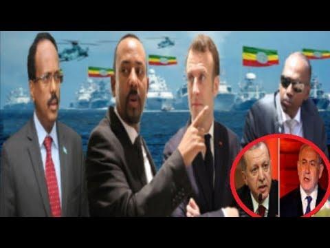 Warar Deg Deg Ah Itoobiya & France Oo Badda Somalia U Heshiiyey,Khudbadda Farmajo