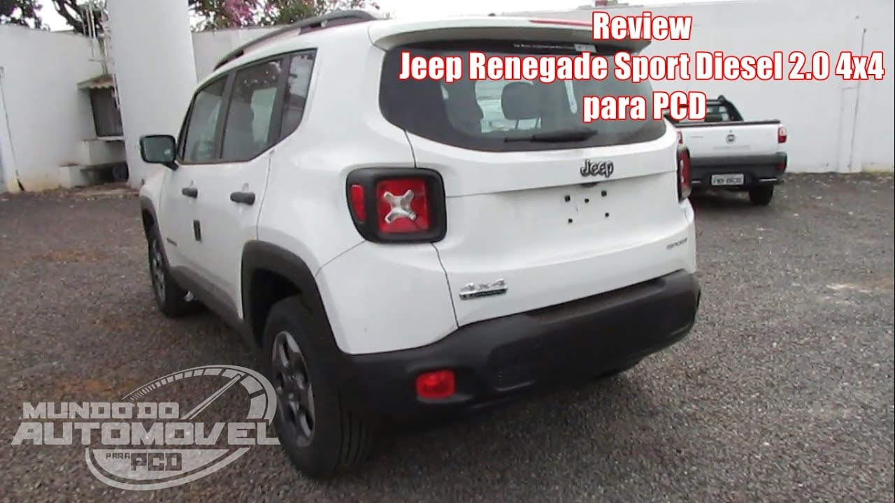 Review Jeep Renegade 2 0 Sport Diesel 4x4 Para Pcd Youtube
