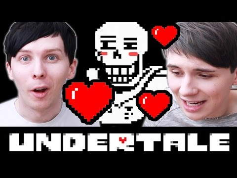 DATING A SKELETON! - Dan and Phil play: Undertale #3
