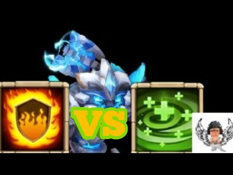 12/12 Sasquatch | Flame Guard Vs Regenerate | Which Is Better And Why? [CASTLE CLASH]