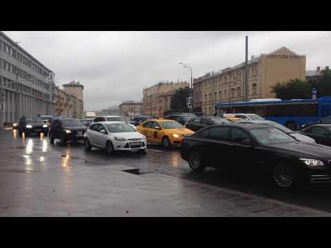 Обзор метро Красные Ворота Москва