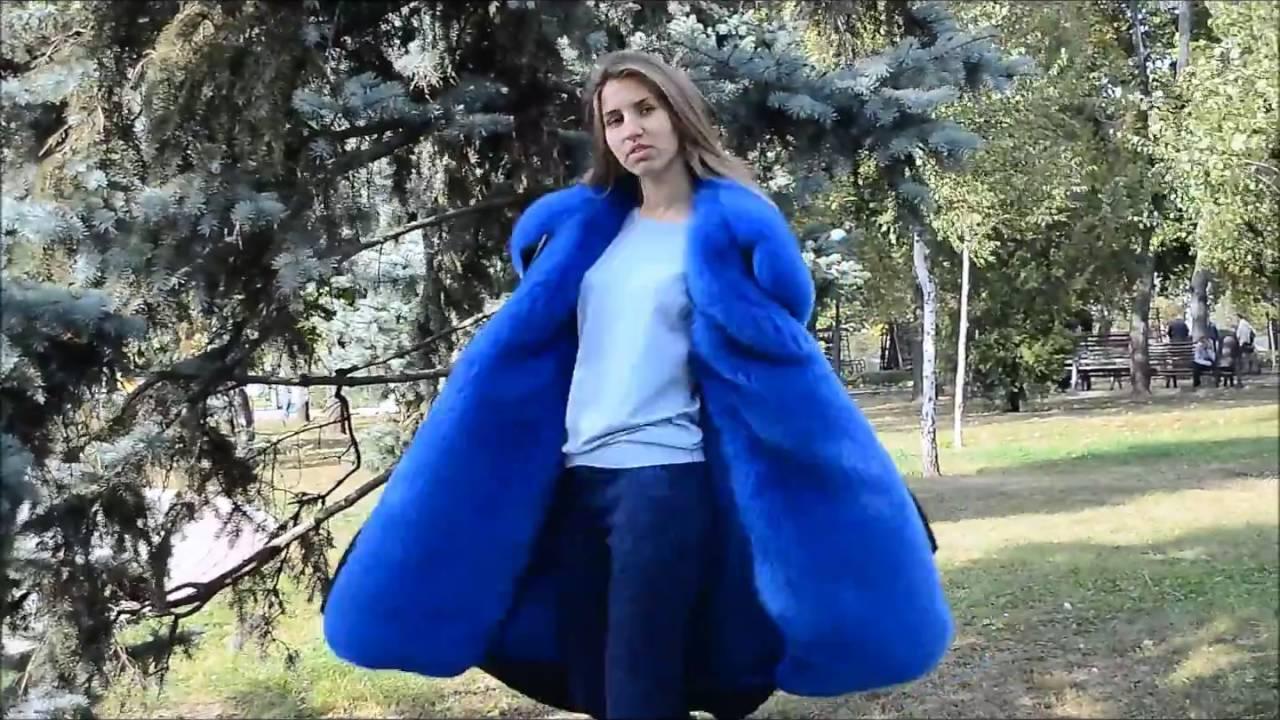 Купить женскую парку с натуральным мехом, смотреть видео обзор .