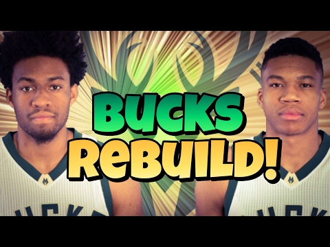 NBA 2K17! Milwaukee Bucks Rebuild! Brightest Future EVER!!