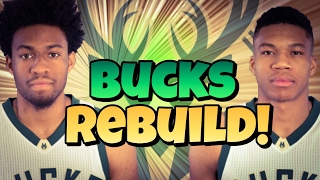 NBA 2K17! Milwaukee Bucks Rebuild! Brightest Future EVER!!