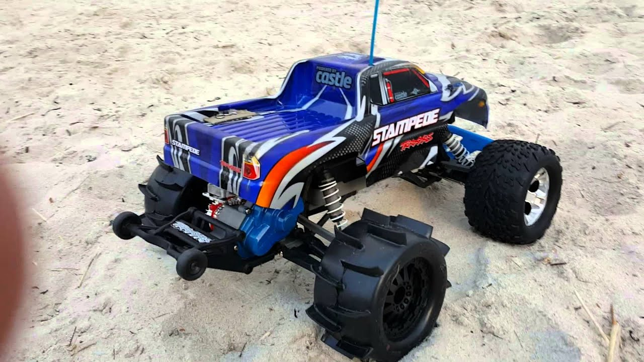 Traxxas stampede paddle tires