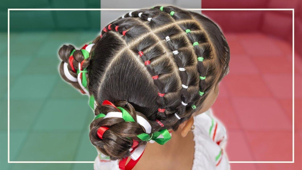 Peinado Mexicano Para La Independencia F 225 Cil Con Ligas