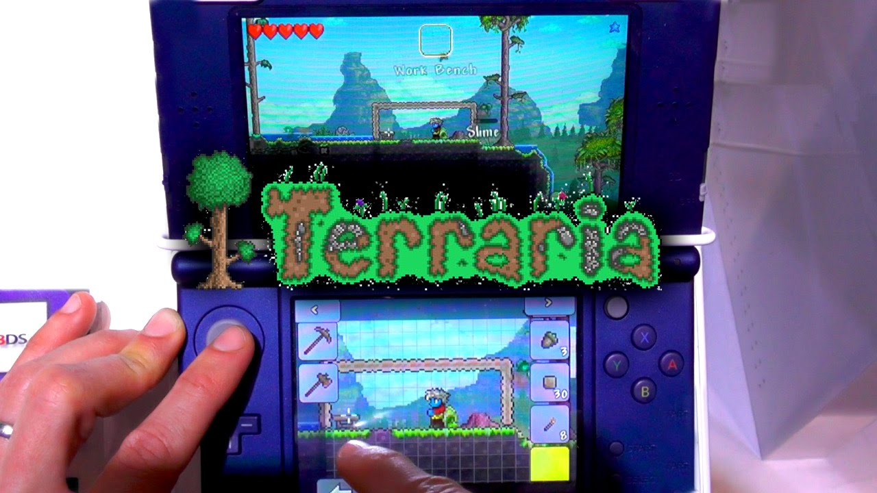 Terraria 3DS – New Build Game-Play (1 2 SVN: 10446) | FAMILY
