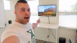 ENTREPRENEUR OFFICE SETUP | Tour Of My Home Business Work Space, Equipment, & Gadgets