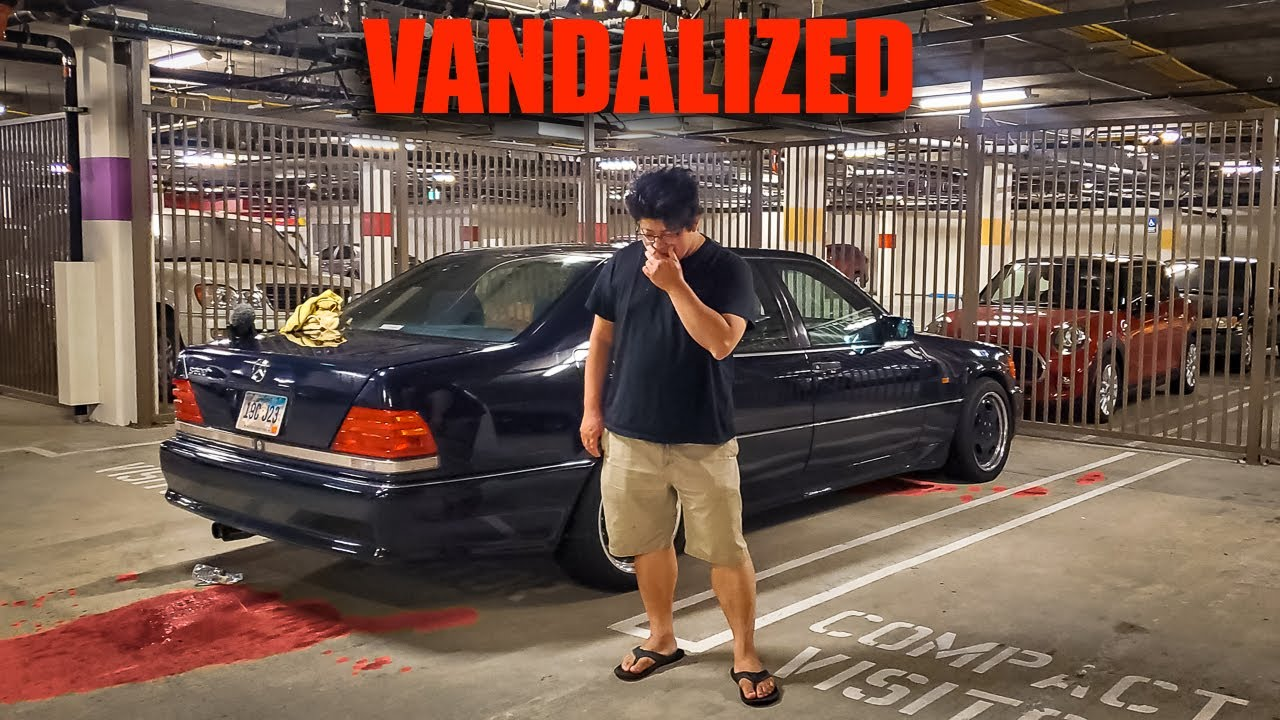 A Hater Vandalized and Damaged my Mercedes S600