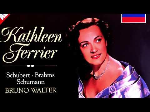 Schubert/Schumann.. - Lieder ''Du bist die Ruh'' (Century's recording : Kathleen Ferrier/Walter)