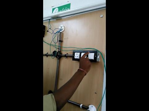 1bhk wiring on board एक घर की वायरिंग youtube house floor plans 1bhk wiring on board एक घर की वायरिंग