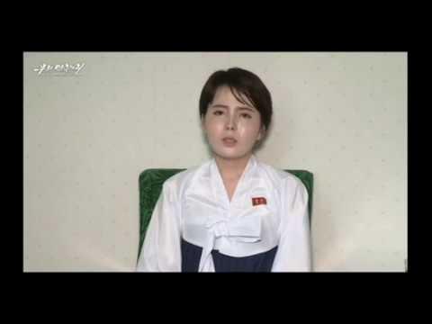 전혜성(임지현)이 탈북 영상, 재입북한 이유는 강제북송에 무게.[참고로 우리민족끼리는 대북선전매체로 북한엔 방송안됨]