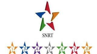 Creation du logo SNRT avec Illustrator