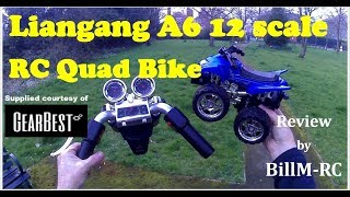 Liangang A6 RC Quad Bike Motorcycle review
