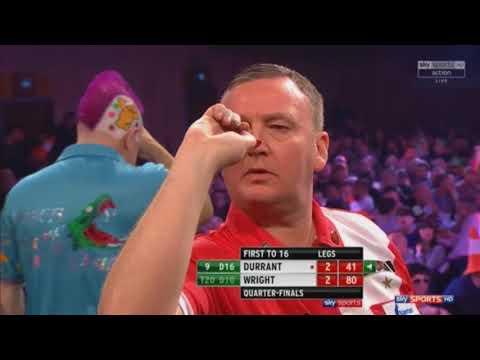 Peter Wright vs Glen Durrant   Quarter Final   Grand Slam of Darts 2017
