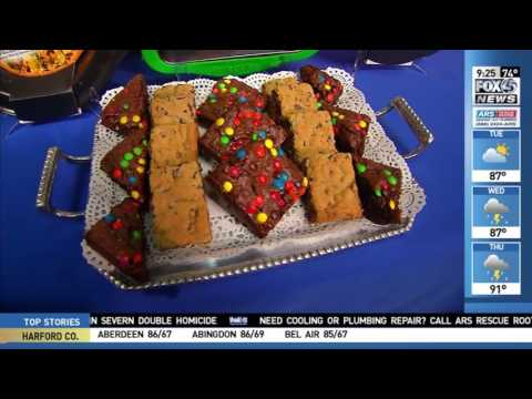 Perfect Slice Bakeware by BergHOFF Featured on WBFF-TV Fox, Baltimore, MD