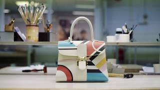 Delvaux Ethiopia Bag - A Journey of Colours and Textures