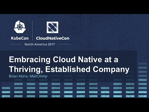 Embracing Cloud Native at a Thriving, Established Company -