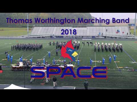Thomas Worthington Marching Band - State Finals 2018