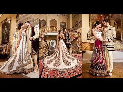 Asian bridal wear and sherwanis 2015