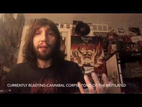 Vital Vinyl Vlog: Pig Destroyer-Painter Of Dead Girls