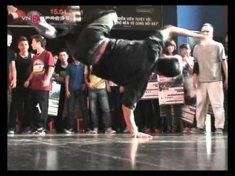 Màn Hip hop của nhóm Big Toe
